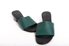 Load image into Gallery viewer, Chelsea Mule - Forest Green