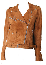 Load image into Gallery viewer, Bowie jacket - Tan Suede