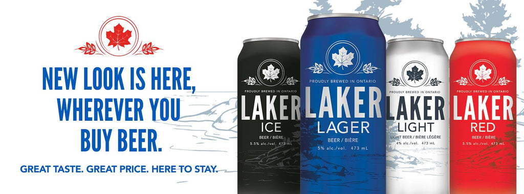 New look for Laker Beer is Ontario Proud