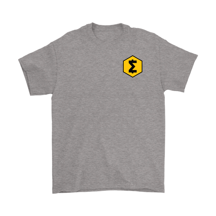 SmartCash (SMART) Upper Chest Symbol T-Shirt