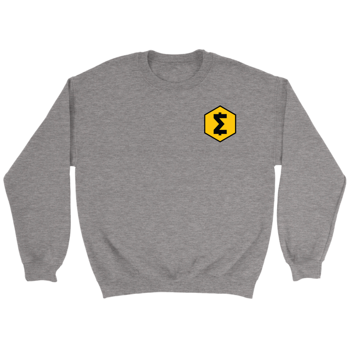 SmartCash (SMART) Upper Chest Symbol Crew Neck