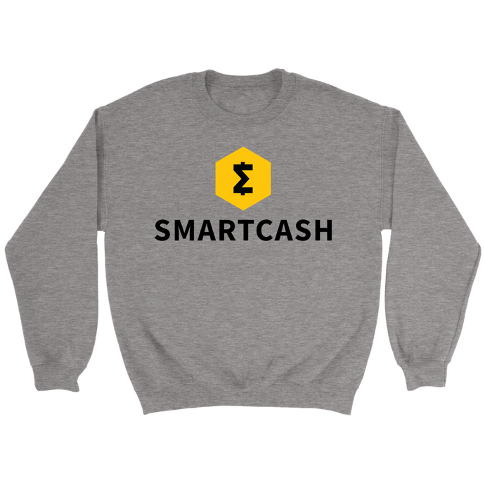SmartCash (SMART) Full Chest Logo Crew Neck