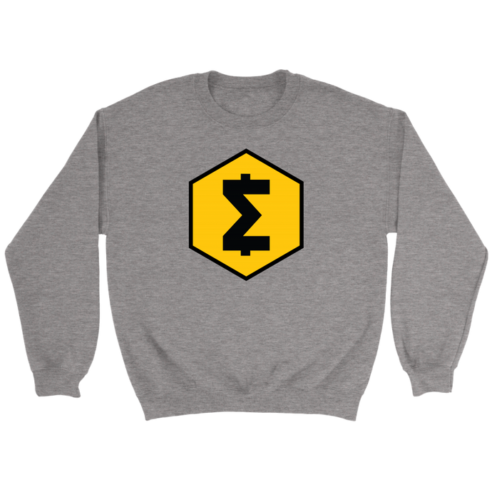 SmartCash (SMART) Full Chest Symbol Crew Neck