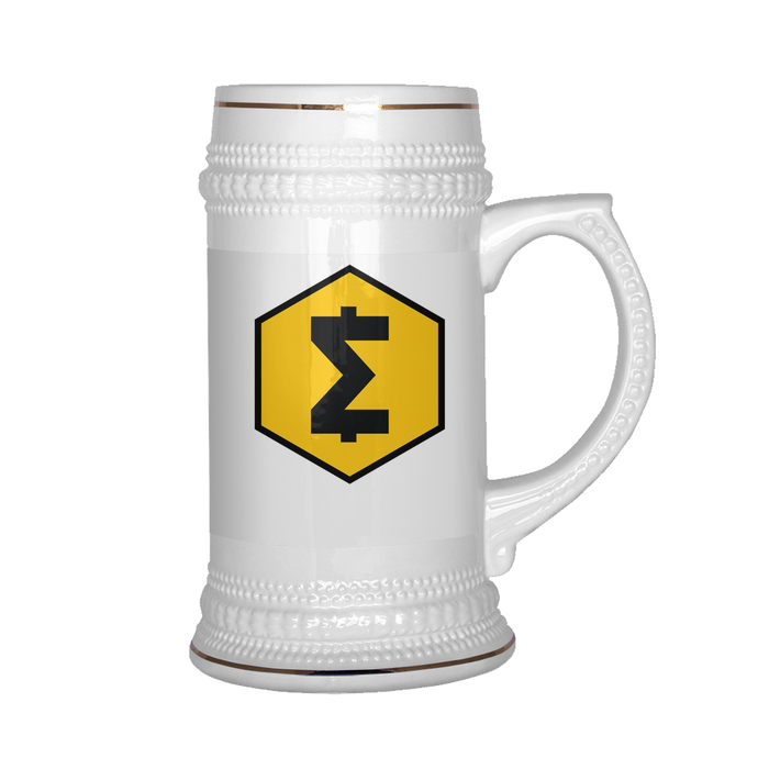 SmartCash (SMART) 22 oz Beer Stein