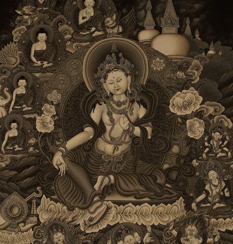 Antique Color Green Tara