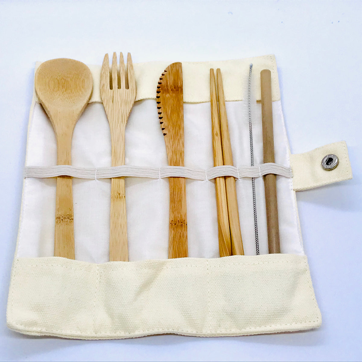 Reusable Bamboo Cutlery pack