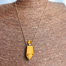 Load image into Gallery viewer, Crystal Perfume Vial necklaces