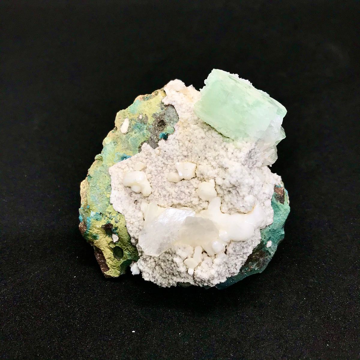 Green Apophyllite Small Clusters