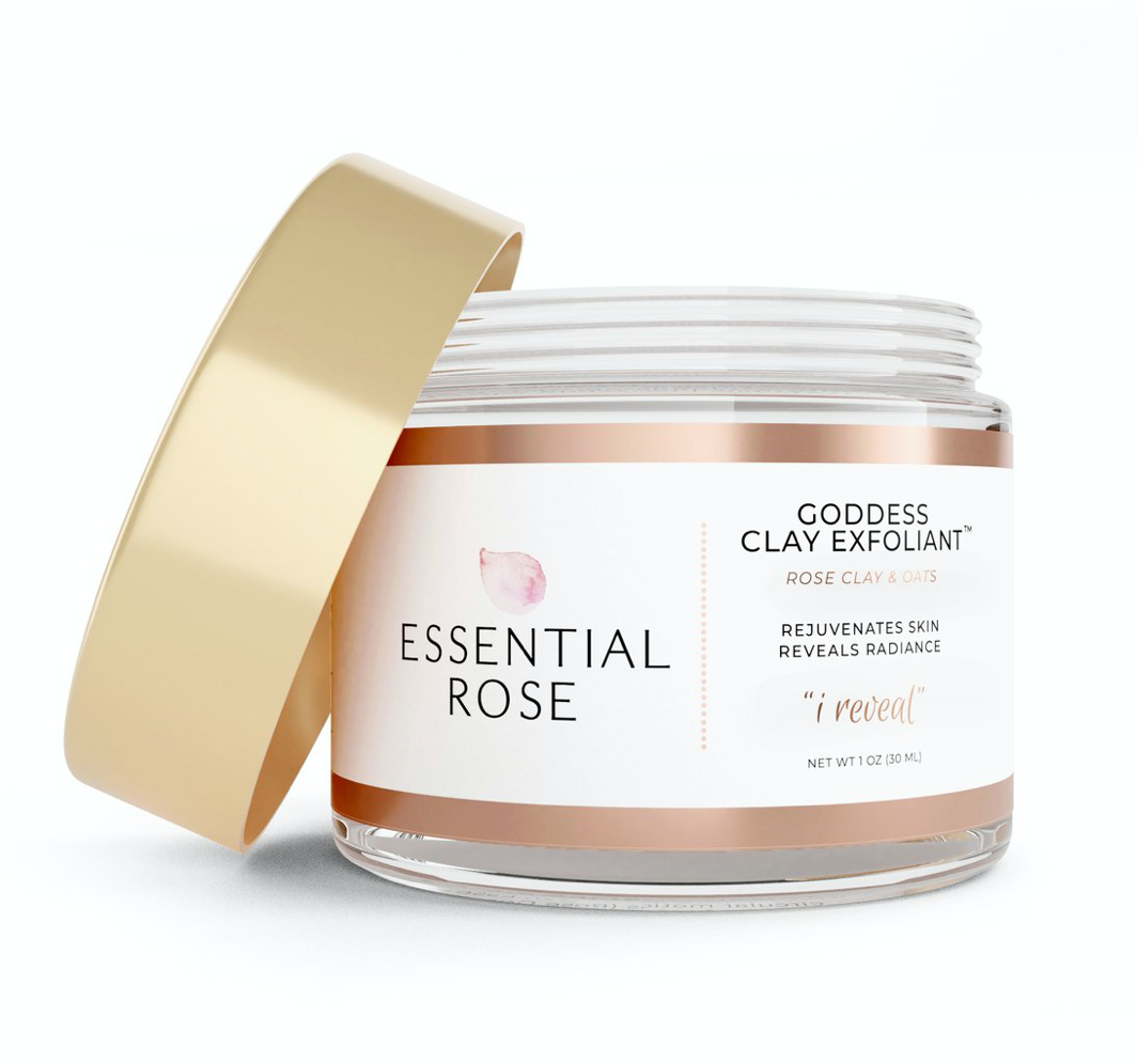 Essential Rose Life Goddess Clay Exfoliant