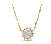 Soleil Necklace Mother of Pearl