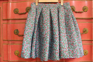 Blue Flower polo skirt