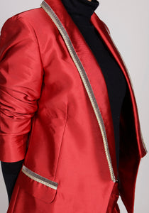 Michelangelo Silk & Velvet Trim ( Suit & Jacket )