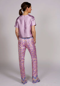 LILAC BELL BOTTOM TROUSERS