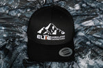 Elite Himalayan Classic Retro Trucker Cap - White Logo Embroided