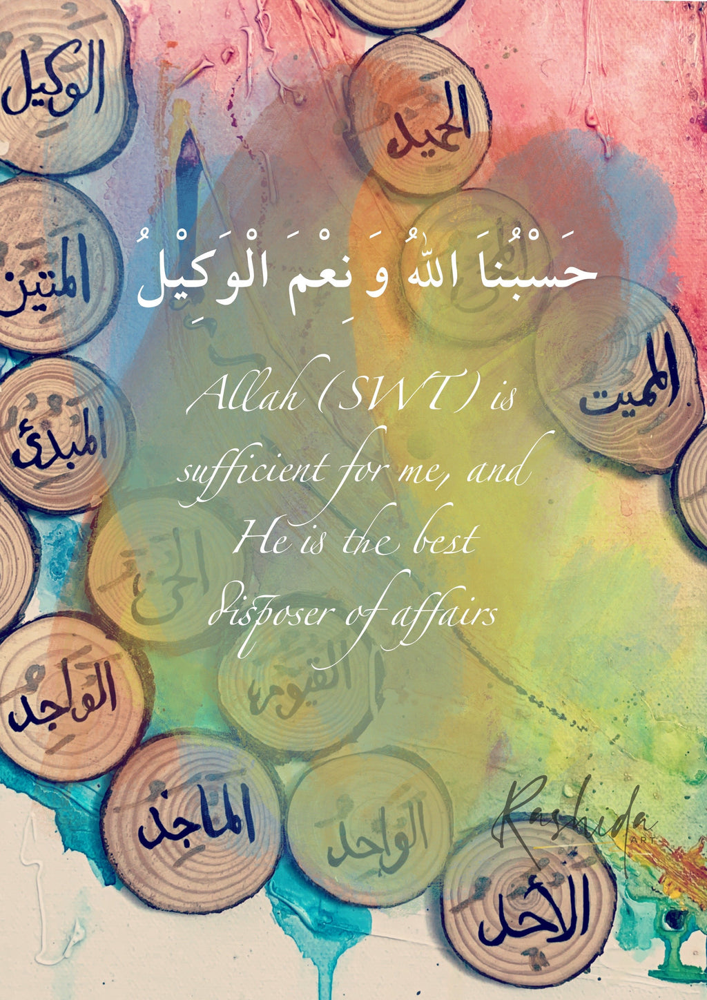 Sufficient for me - Rashida Art