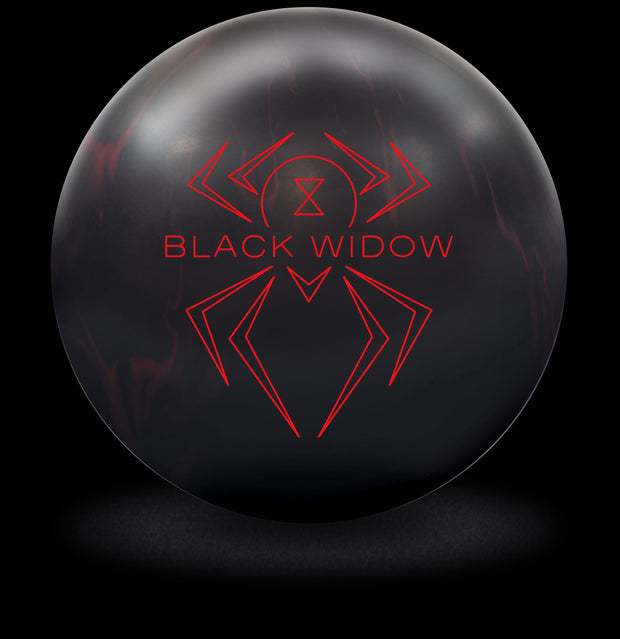 Black Widow 2.0 Bowling Ball in Black with Red