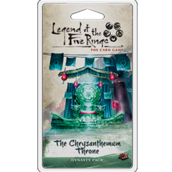 L5R Expansion Chrysanthemum Throne  Legend of the Five rings LCG expansion