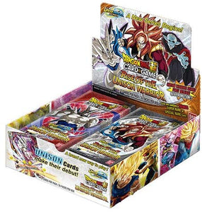 Rise of the Unison Warrior Dragonball Booster box