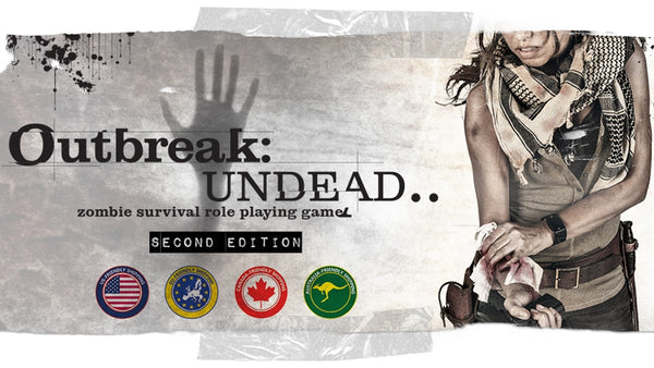 Outbreak: Undead Survivors Guide 2nd Edition