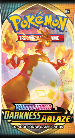 Pokemon Darkness Ablaze x1 Booster