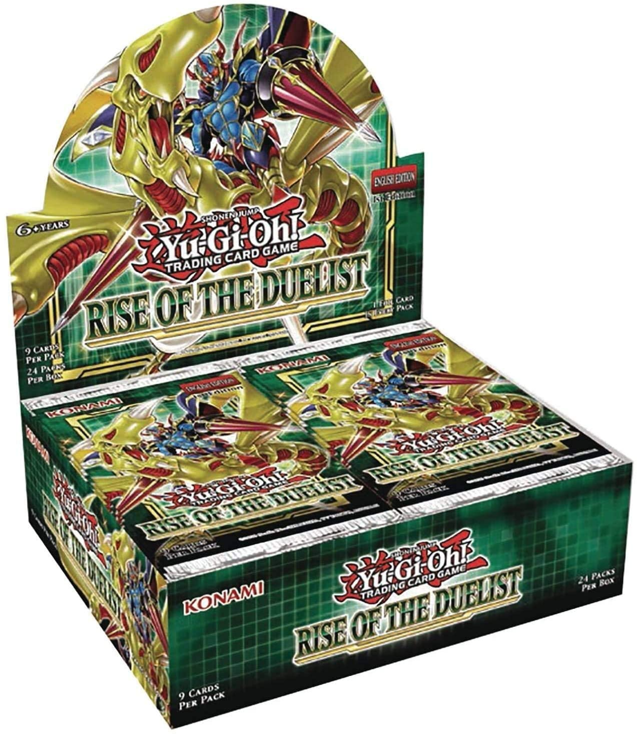 Yu Gi Oh! Rise of the Duelist Booster Box