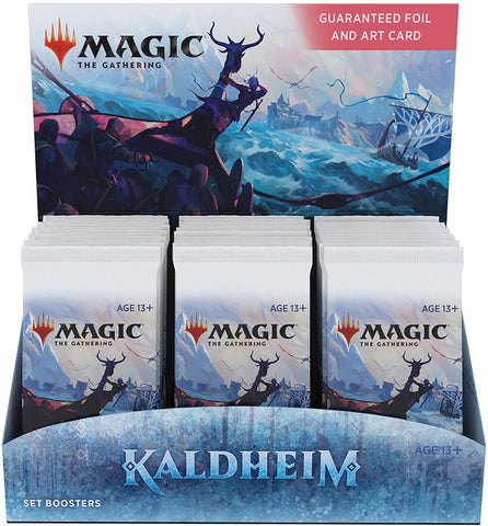 Kaldheim set Booster Box - Magic The Gathering