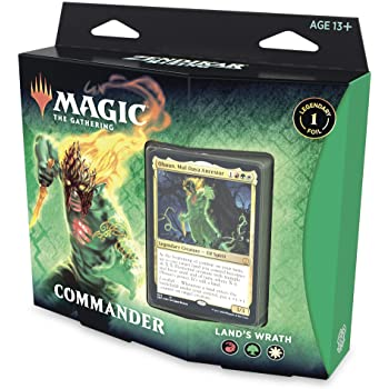 Lands Wrath precon Commander deck - Zendikar Rising