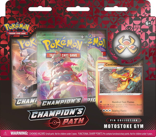 Motostoke Gym Champions Path Pin Collection Pokemon