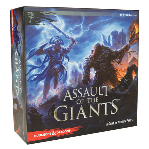 Assult of the Giants D&D board game