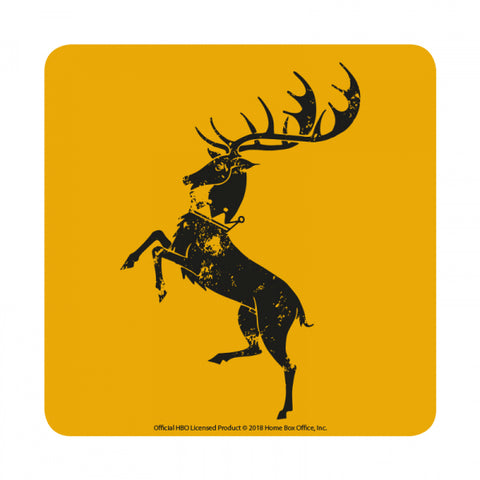 Baratheon Coaster - Game of Thrones