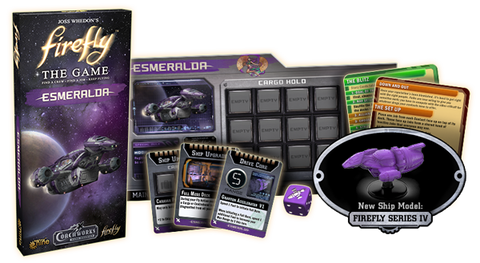 Firefly Board game: Esmeralda Ship Expansion