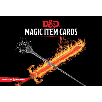 Dungeons & Dragons Magic Item Cards