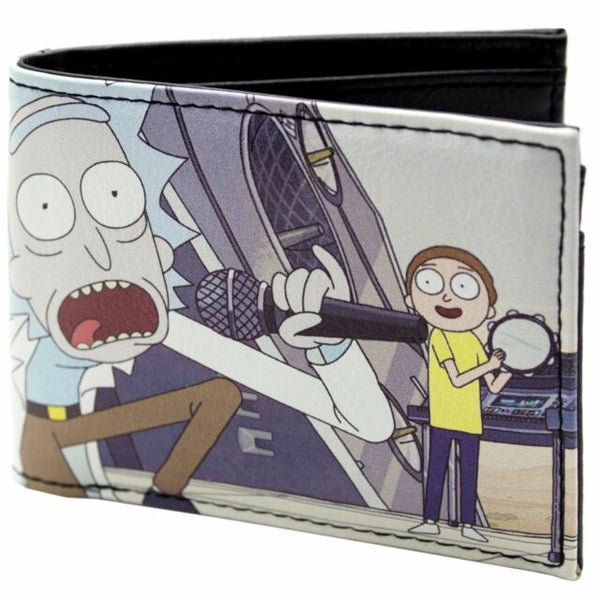 Rick And Morty Wallet - Get Schwifty