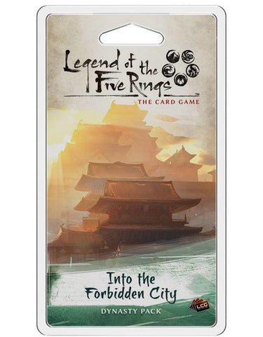 L5R Into Forbidden City Legend of the Five rings LCG expansion