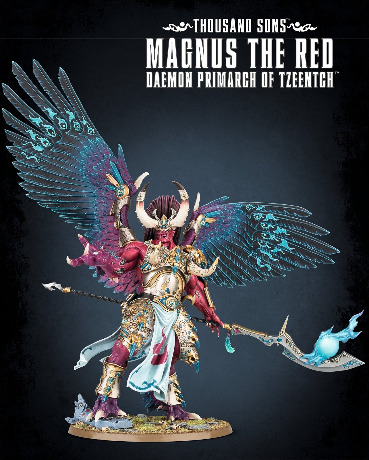 Magnus The Red, Daemon Primarch of Tzeentch