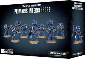 Space Marine Primaris Intercessors