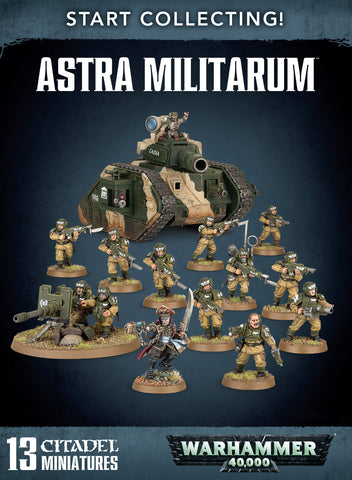 Start Collecting - Astra Militarum