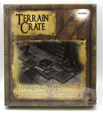 Terrain Crate Dungeon Traps