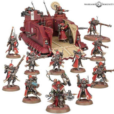 Start Collecting: Adeptus Mechanicus Warhammer 40,000
