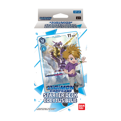 Cocytus Blue Digimon Card Game Starter Deck