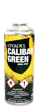 Base: Caliban Green Spray