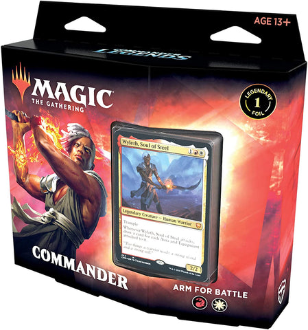 Commander Legends PreCon Deck Arm for Battle 2020