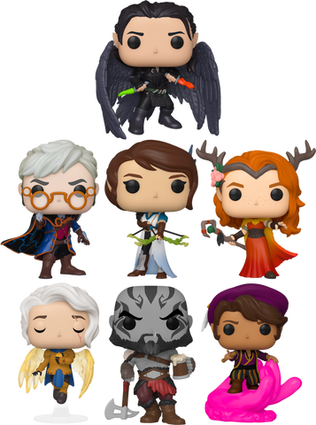 Critical Role Full set Pike, Grog, Scanlan, Vax, Vex, Percy and Keyleth - Funko Pop!