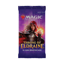 MTG - Throne of Eldraine booster pack