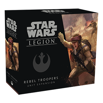 Star Wars Legion Rebel Troopers exp