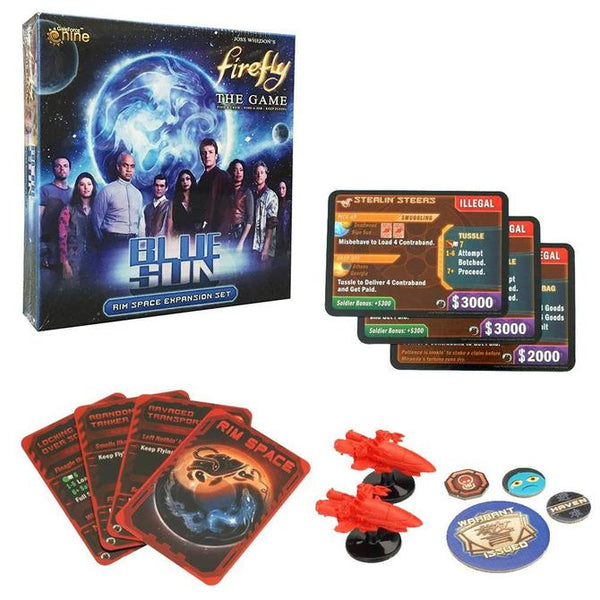 Firefly Board game: Blue Sun Board expansion