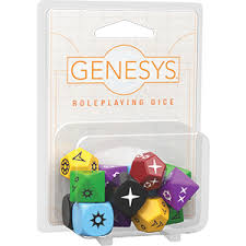Genesys Dice set