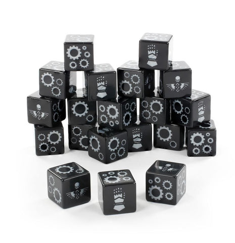 Iron Hands Dice Warhammer 40000