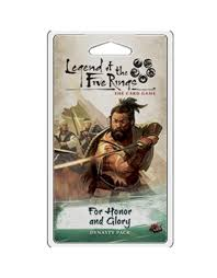 L5R For Honor & Glory Legend of the Five rings LCG expansion