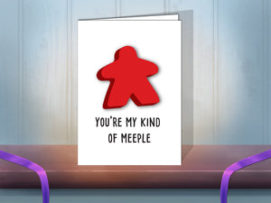 My Kind of Meeple greeting card